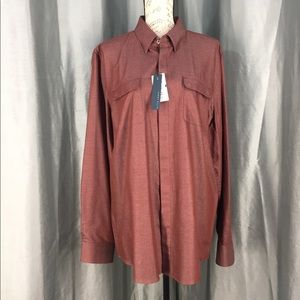 NWT Perry Ellis slim fit button down